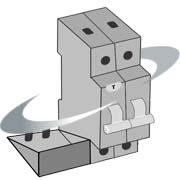 Bloc différentiel, bobine MX, bobine MN