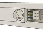 Gamme compatible goulotte : Interrupteur & Prise sur goulotte