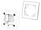 Accessoire : Cadre & Support prise et interrupteur