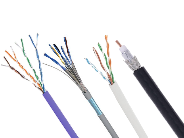 Câble RJ45 ethernet : Grade 3, Cat 6…