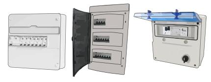 Tableau électrique pré équipé & pré cablé