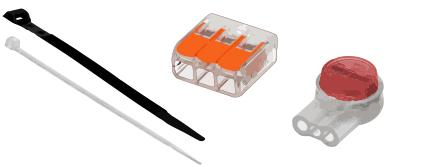 Connecteur électrique & Fixation cable