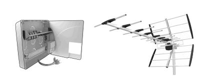 Réception de la télévision & installation antenne