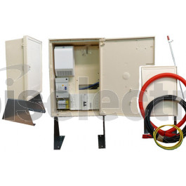 Coffret chantier edf finest armoire tarif jaune avec disjoncteur a et coffret de comptage a - Coffret de chantier edf ...