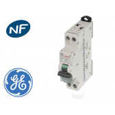 Disjoncteur modulaire phase neutre 4.5kA General Electric