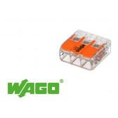 50 mini connecteur 3 entrées pour fil souple ou rigide