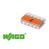 15 mini connecteur 5 entrées pour fil souple ou rigide