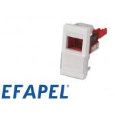 Prise RJ45 cat.6 UTP demi module Efapel 45x45