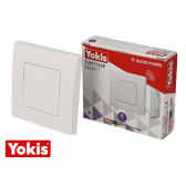 Télécommande sans fil murale 1 touche POWER Yokis