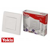 Télécommande sans fil murale 2 touches POWER Yokis
