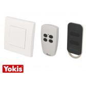 Télécommande sans fil murale Yokis