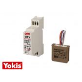 Variateur de lumière 500W encastrable & modulaire Yokis