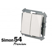 Poussoir double Simon Premium