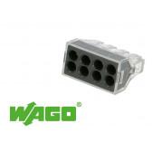 50 connecteurs WAGO 8 entrées (noir)