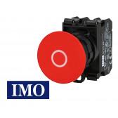 Arrêt d'urgence complet à impulsion Ø22mm, 1NO+1NC