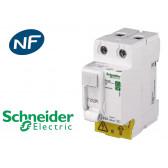 Interrupteur différentiel 2P 63A 30mA Type AC Schneider Resi9 XP