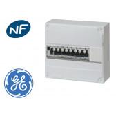 Tableau électrique précâblé pour GTL, 7 disj + 1 ID à borne auto