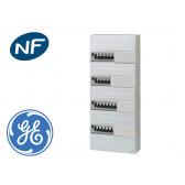Tableau électrique précâblé pour GTL, 11 disj + 4 ID à borne auto