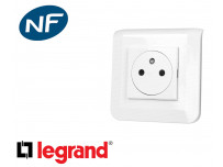 Prise électrique Legrand Mosaic™ complète