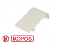 Jonction linéaire pour plinthe PVC blanche 80 x 25 mm