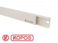 Goulotte électrique PVC 40 x 20 mm