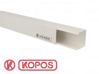 Goulotte électrique PVC 40 x 40 mm