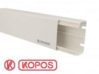 Goulotte électrique PVC 80 x 40 mm