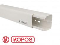 Goulotte électrique PVC 60 x 60 mm