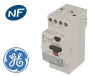 Interrupteur différentiel monophasé GE