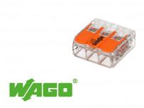 Borne WAGO pour fil souple ou rigide ultracompacte