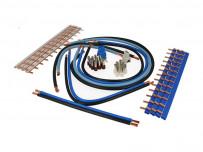 Ensemble de câblage universel pour coffret électrique domestique à vis