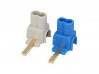 Paire de Connecteurs isolés pour appareillage GE (24 mm)