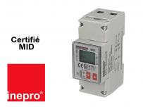Sous Compteur Electrique Monophasé  100A - Certifié MID