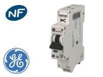 "Disjoncteur modulaire phase neutre ""auto"" 4.5kA General Electric"