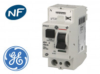 """Interrupteur différentiel """"auto"""" General Electric"""