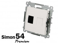 Prise RJ45 cat.6 Simon Premium