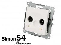 Prise TV + FM Simon Premium