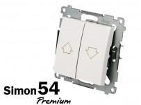 Poussoir de volet roulant Simon Premium