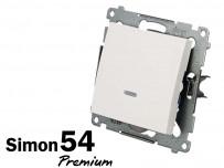 Interrupteur lumineux à témoin Simon Premium