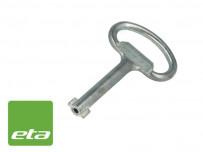 Clé de manoeuvre supplémentaire pour coffrets métal ETA
