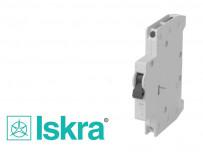 Contact auxiliaire 1NO/1NC pour disjoncteur ISKRA