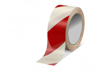 Ruban rouge et blanc 500 m