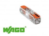 Borne WAGO Inline pour fil souple ou rigide 4mm²