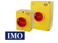 Interrupteur sectionneur rotatif IMO en boitier
