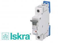 Disjoncteur unipolaire modulaire 10kA courbe C Iskra