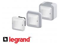 Interrupteur automatique Legrand Plexo™ gris