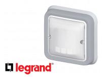 Interrupteur automatique Legrand Plexo™ gris encastrée