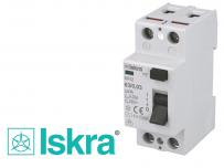 Interrupteur Différentiel 40A / 30mA / type AC Iskra