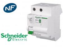 Interrupteur differentiel 2P 63A 30mA Type AC Schneider Resi9 XE