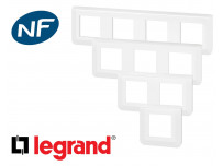 Plaque de finition Legrand Mosaic